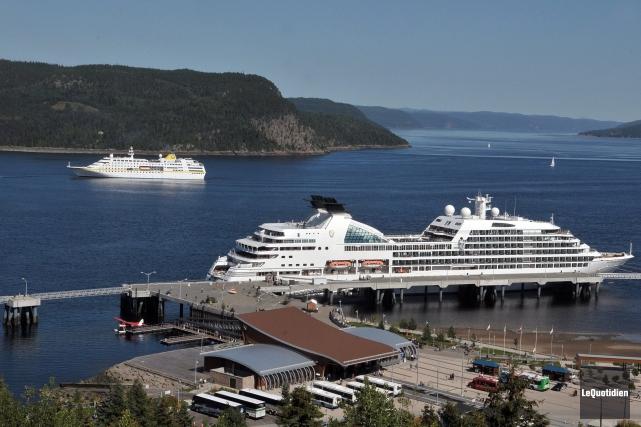 Le port d'escale de La Baie a été... (Archives Le Quotidien)