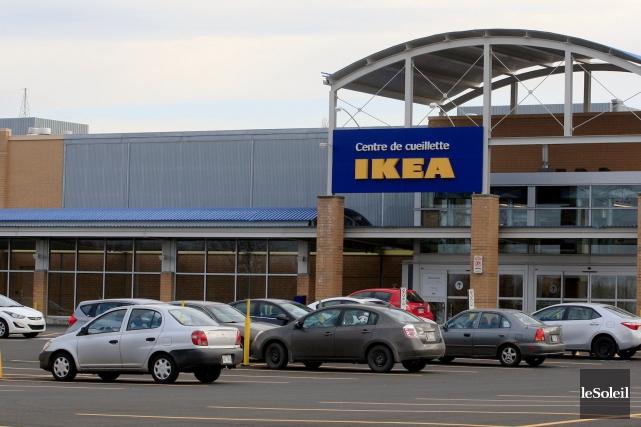 Le centre de cueillette IKEA àQuébec sera ouvert... (Le Soleil, Pascal Ratthé)