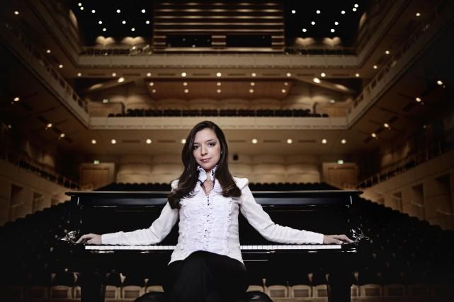 La pianiste Yulianna Avdeeva... (PHOTO D'ARCHIVES FOURNIE, HARALD HOFFMANN)