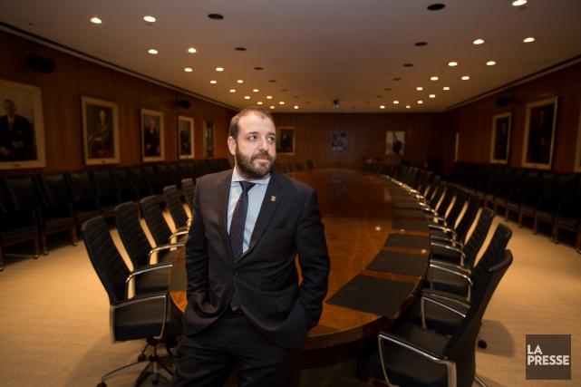 Mark-Anthony Serri a quitté le cabinet Raymond Chabot... (PHOTO OLIVIER PONTBRIAND, LA PRESSE)