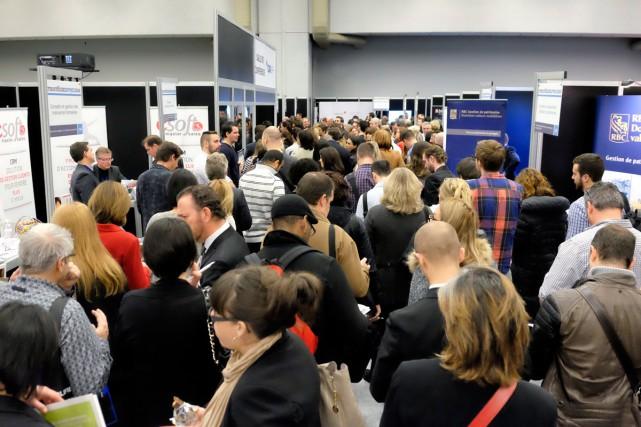 Le troisième salon Stratégies PME (notre photo) avait... (Photo fournie par STRATÉGIES PME)