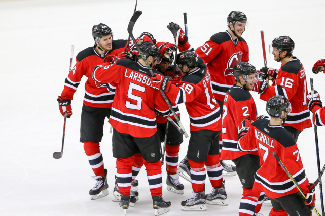 Les Devils du New Jersey affichent un dossier... (Photo Vincent Carchietta, USA Today)