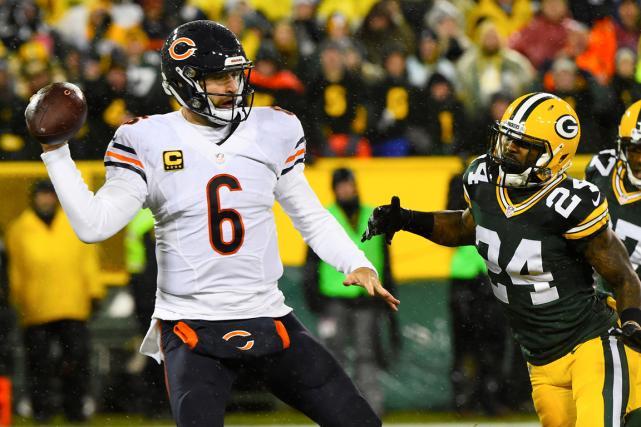 Jay Cutler et les Bears de Chicago ont... (Photo Mike DiNovo, USA Today)