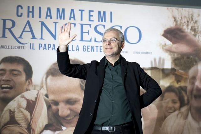 Le réalisateur italien Daniele Luchetti a présenté mardi... (PHOTO AFP)