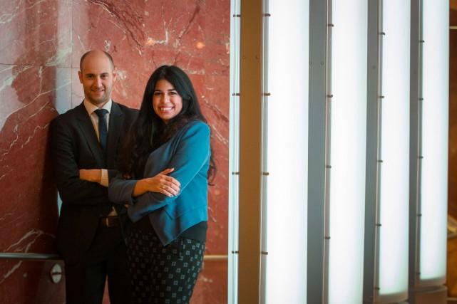 Chanel Alepin, 26 ans, avocate au cabinet fondé... (PHOTOIVANOH DEMERS, LA PRESSE)