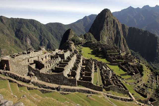 Le Machu Picchu... (Photo: archives AFP)
