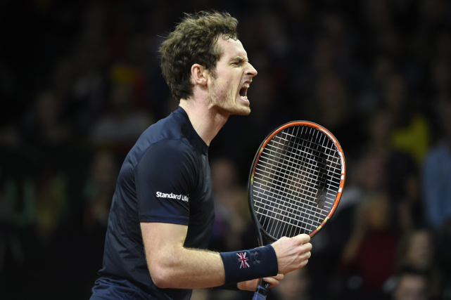 Le Britannique Andy Murray a remporté son match... (Photo John Thys, AFP)