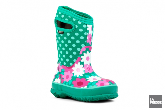Botte Bogs, Classic Flower Dots Kids Insulated Boots,... (PHOTO FOURNIE PAR BOGS)