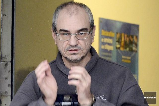 Éric Fortin devra patienter encore quelques semaines avant... ((Photo Le Quotidien, Jeannot Lévesque))
