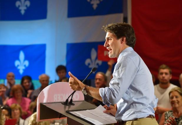 «Justin Trudeau pourrait changer substantiellement la trajectoire politique... (PHOTOYAN DOUBLET, ARCHIVES LE SOLEIL)