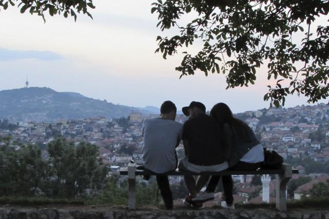 À Sarajevo, une grande amitié m'attendait au coin... (La Tribune, Jonathan Custeau)