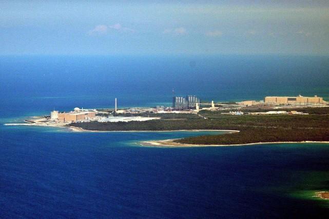 La centrale nucléaire de Kincardine, près de laquelle... (PHOTO ARCHIVES LA PRESSE CANADIENNE)