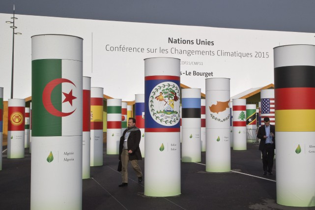 Avec le sommet de Paris à nos portes, le monde entier va porter son regard vers... (Michel Euler, AP)