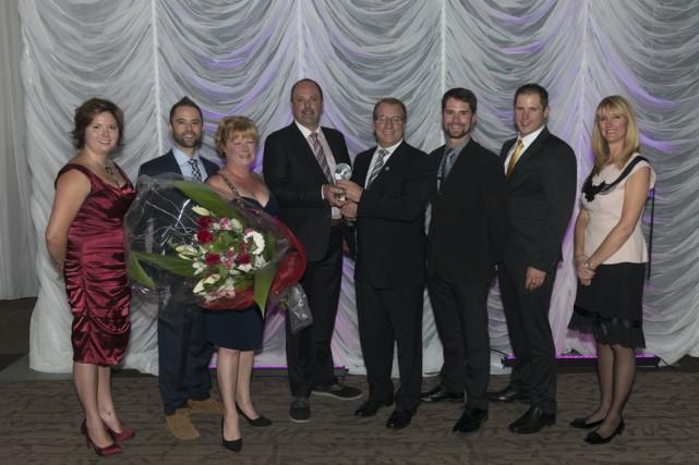Le Potager Mont-Rouge a remporté le prix Le... (Courtoisie Association des producteurs maraîchers du Québec)