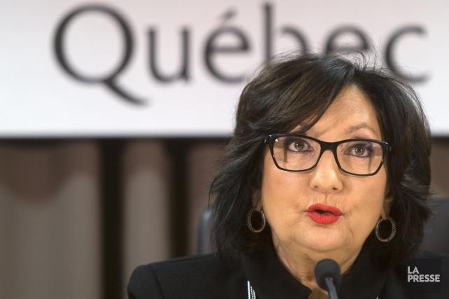 La juge France Charbonneau... (Archives La Presse)