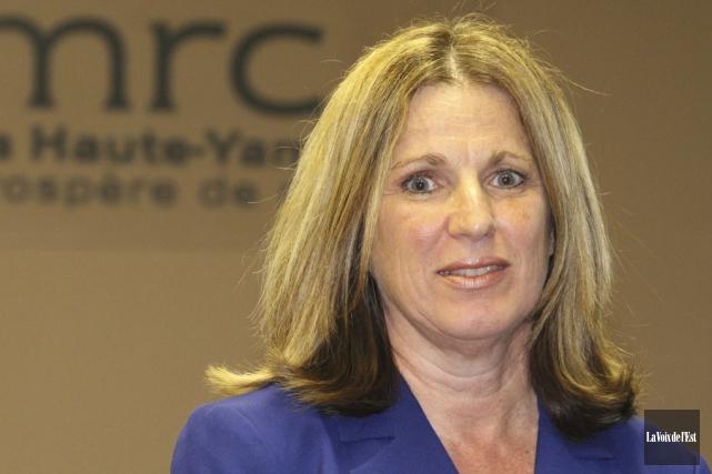La directrice générale de la MRC de la... (photo archives La Voix de l'Est)