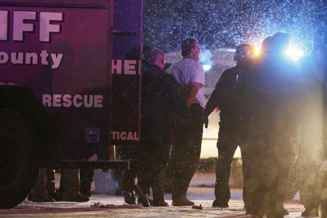 Les autorités ont reconnu ne pas connaître pour... (Photo Isaiah J. Downing, Reuters)