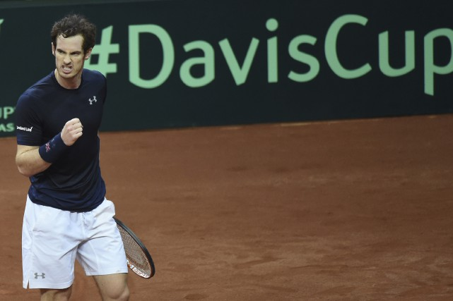 Le Britannique Andy Murray a vaincu le Belge... (Associated Press)