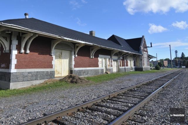 L'ancienne gare de Shawinigan... (Archives Le Nouvelliste)