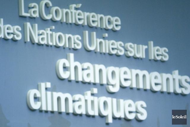 La conférence des Nations unies sur le climat... (Photothèque Le Soleil)