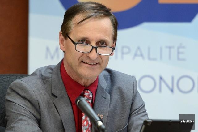 Gérald Savard, préfet de la MRC du Fjord-du-Saguenay... (Archives Le Quotidien)