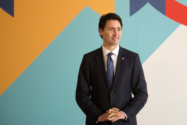 Avant de se rendre à la Conférence de... (La Presse Canadienne, Adrian Wyld)