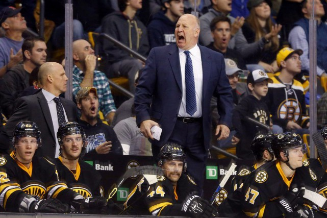 L'entraîneur des Bruins Claude Julien fait connaître son... (PHOTO WINSLOW TOWNSON, USA TODAY)