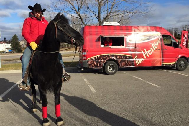 Pyro, un polyvalent cheval de Saguenay, vient de... (Photo courtoisie, Pierre-Alexandre Roy)