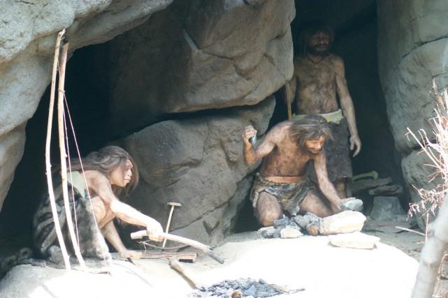 Les néandertaliens étaient un peu plus petits que... (123rf/Daniel Mortell)
