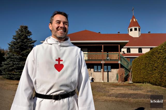 Entré comme postulant au Monastère de la Croix... (Le Soleil, Patrice Laroche)