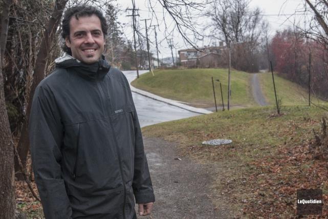 Les terrains cédés par le CN à Saguenay... (Photo Le Quotidien, Michel Tremblay)