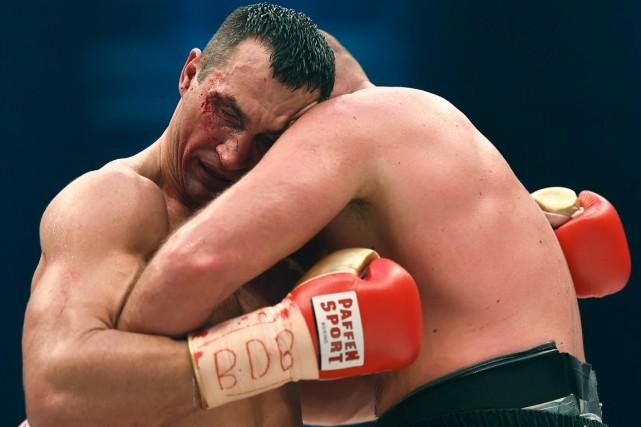 Invaincu depuis 2004, l'Ukrainien Vladimir Klitschko a perdu... (AFP, Patrik Stollarz)