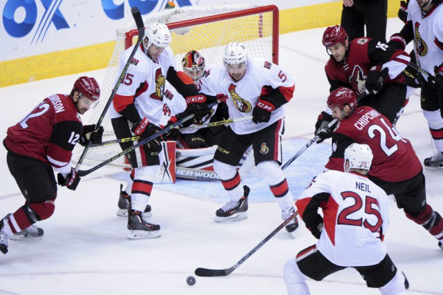 Les Coyotes ont mis fin à une série... (Photo Matt Kartozian, USA Today)