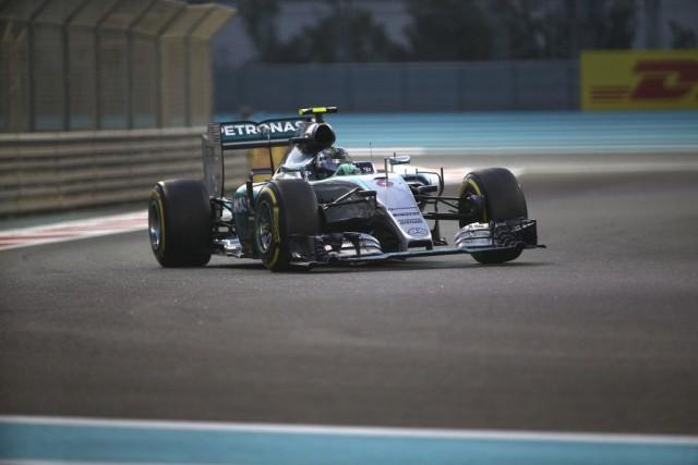 Nico Rosberg... (PHOTO MARWAN NAAMANI, AFP)