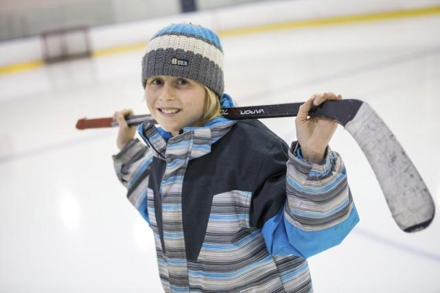 Qu'il devienne, plus tard, hockeyeur professionnel ou professeur... (Olivier Croteau)