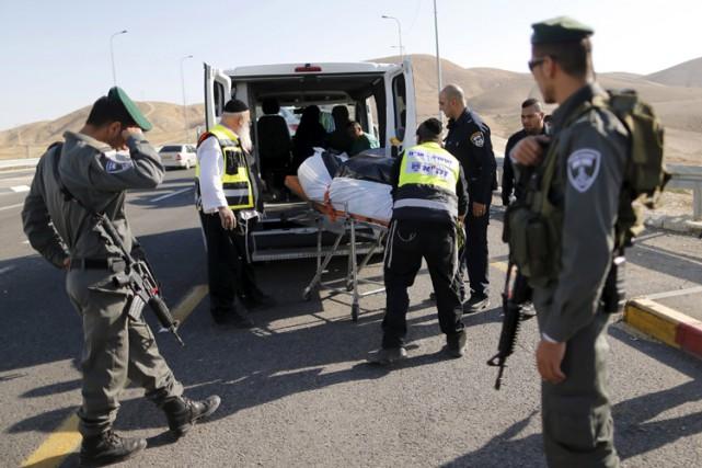 Depuis le 1er octobre, 101 Palestiniens ont été... (PHOTO REUTERS)
