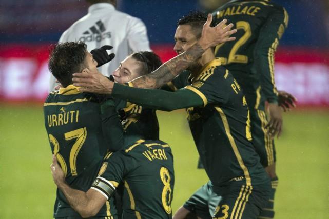 Fanendo Adi et Lucas Melano ont marqué et les Timbers de Portland ont accédé à... (Photo USA Today Sports)
