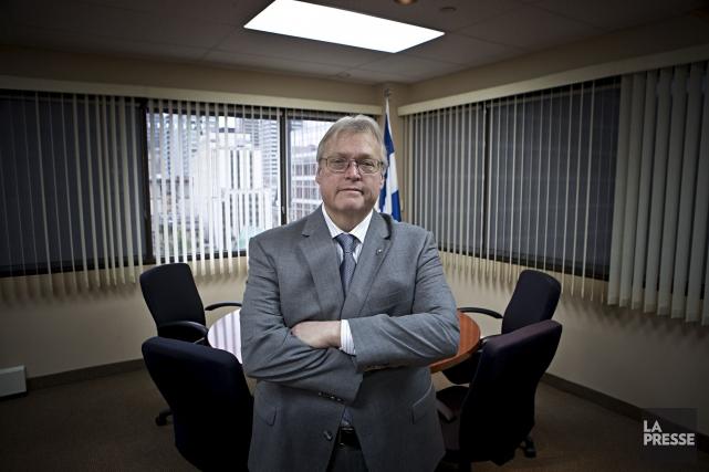 Le ministre Barrette maintient sans coup férir que... (Patrick Sanfaçon, Archives La Presse)