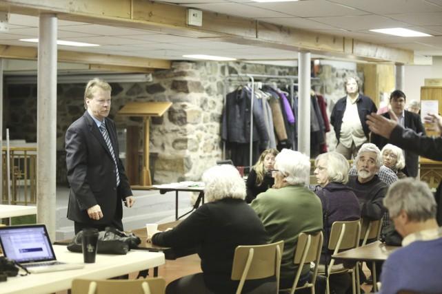 Le député de Berthier et porte-parole de l'opposition... (photo Julie Catudal)