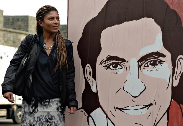 L'épouse du blogueur Raif Badawi, Ensaf Haidar,en octobre... (Archives Le Soleil)