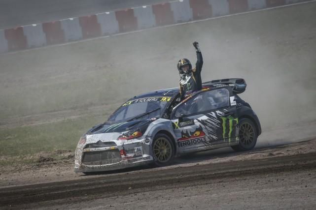 Petter Solberg... (FIA World Rallycross Championship)