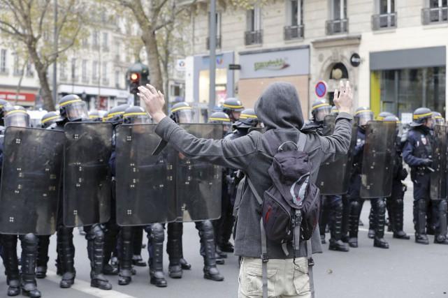 Des heurts se sont produits dans la capitale... (François Guillot, AFP)