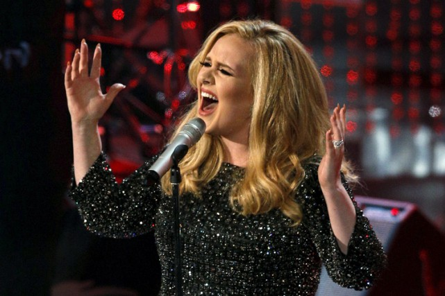 Adele... (PHOTO REUTERS)