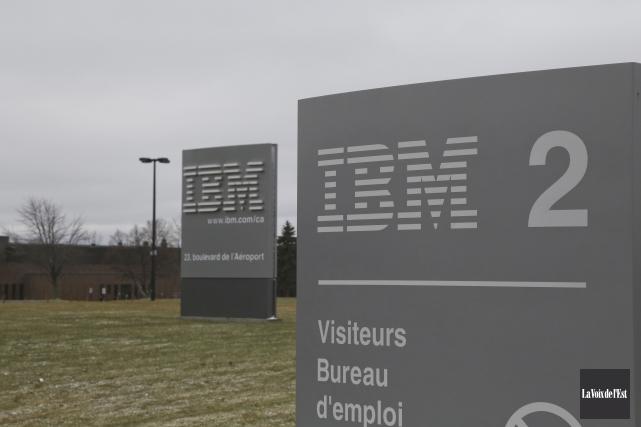 En 2006, IBM a annoncé à 400 de... (Julie Catudal, La Voix de l'Est)