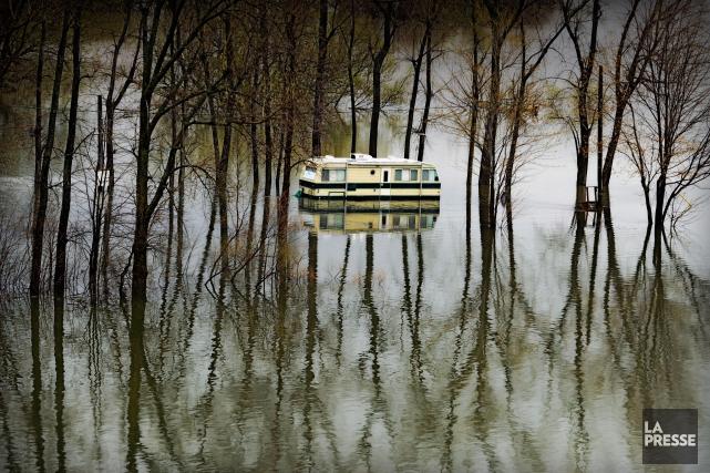 Cinq ans après les inondations dévastatrices duRichelieu, il reste du travail... (PHOTO BERNARD BRAULT, ARCHIVES LA PRESSE)
