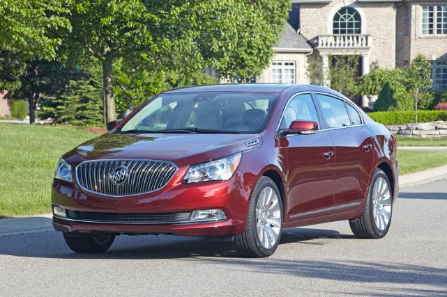 Apparue sur le marché en 2010, la Buick... (Photo fournie par General Motors)