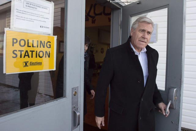 Le chef du Parti libéral Dwight Ball.... (PHOTO ANDREW VAUGHAN, LA PRESSE CANADIENNE)