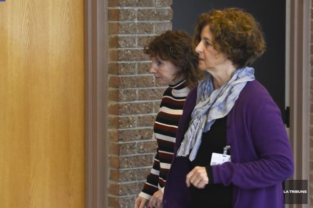 Nancy Landry devra encore patienter avant que son procès soit fixé pour... (La Tribune, René-Charles Quirion)
