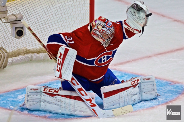Carey Price... (Photothèque La Presse)