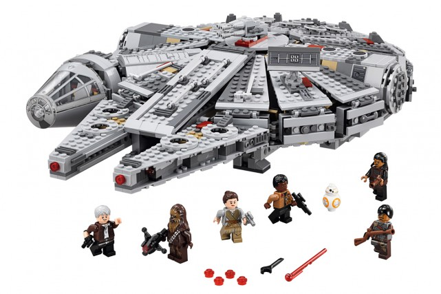 Le vaisseau Millenium Falcon, de LEGO.... (PHOTO FOURNIE PAR LEGO)